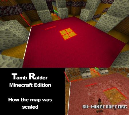 Скачать Tomb Raider - Minecraft Edition для Minecraft