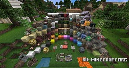 Скачать Chroma Hills [128x] для Minecraft 1.13