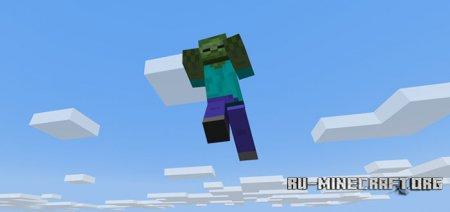 Скачать Flying Zombies для Minecraft PE 1.5