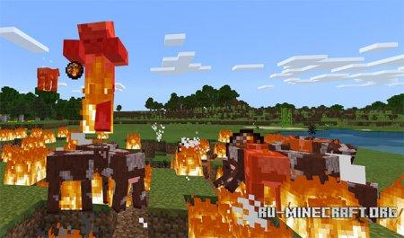 Скачать Super Random Behaviors для Minecraft PE 1.5