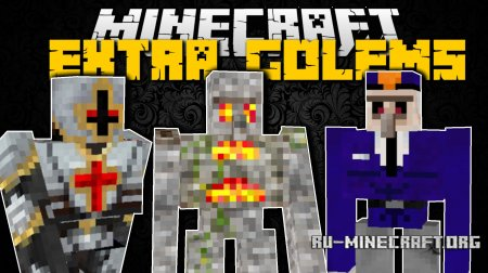 Скачать Extra Golems для Minecraft 1.10.2
