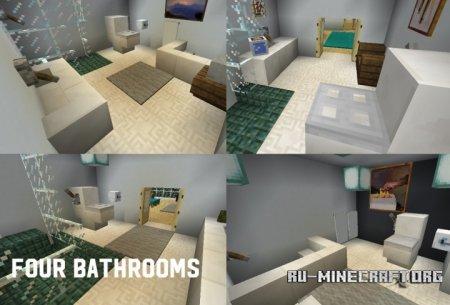 Скачать Modern House 5 by Legoman0416 для Minecraft