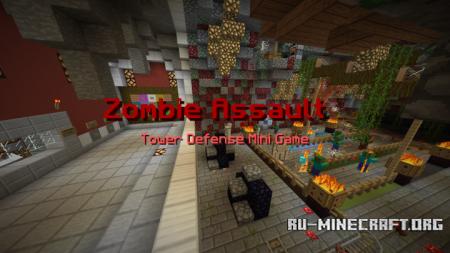Скачать Zombie Assault для Minecraft