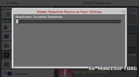 Скачать Hidden Redstone для Minecraft PE 1.5