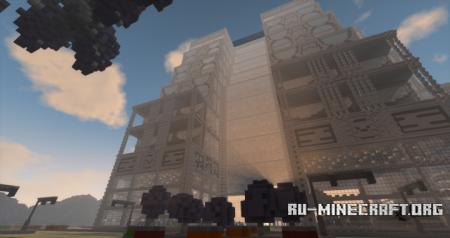 Скачать The Skyscraper of Rikeenblakfla для Minecraft