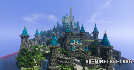 Скачать Disney Castle для Minecraft