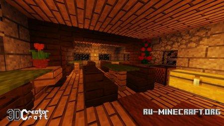 Скачать 3D CreatorCraft [16x] для Minecraft 1.13