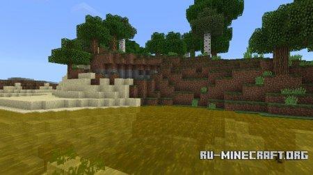 Скачать ColoredWater для Minecraft PE 1.5