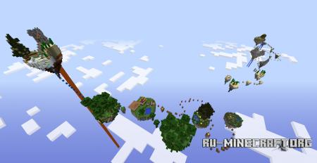 Скачать Island Parkour для Minecraft