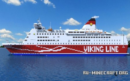 Скачать Viking Line M/S amorella для Minecraft