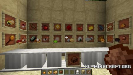 Скачать Pretty, Game-Enhhancing Gobblet для Minecraft 1.13