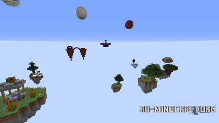 Скачать Skyblock: Island Explorer для Minecraft