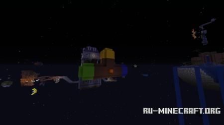Скачать Super Minecraft Galaxy для Minecraft