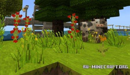 Скачать SummerFields [32x32] для Minecraft PE 1.5