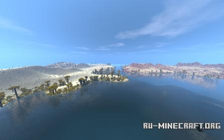 Скачать Desert Map By ClemsDX для Minecraft