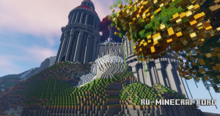 Скачать Red Temple Structure для Minecraft