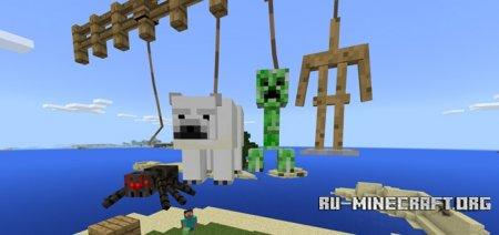 Скачать Leash Plus для Minecraft PE 1.4