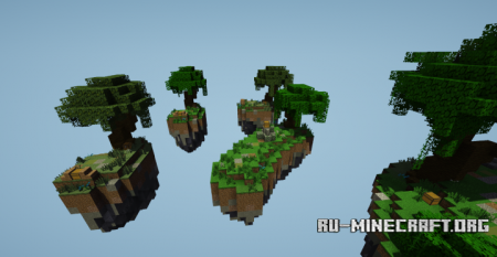 Скачать Jungle Theme Skywars для Minecraft