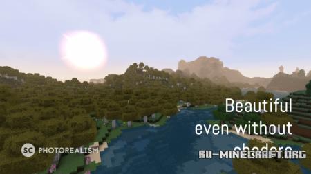 Скачать SC Photorealism [128x] для Minecraft 1.13
