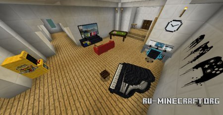 Скачать Furnicraft для Minecraft PE 1.6