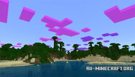 Скачать Clouds Changer для Minecraft PE 1.5