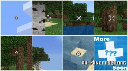 Скачать Custom Crosshairs для Minecraft PE 1.6