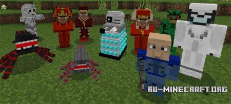 Скачать Doctor Who Mobs для Minecraft PE 1.6
