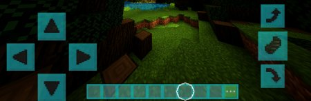 Скачать Coloured GUI для Minecraft PE 1.5