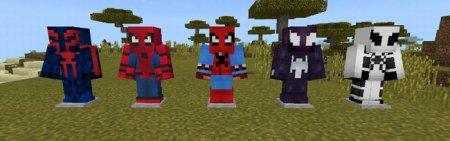 Скачать Spider-Man для Minecraft PE 1.6