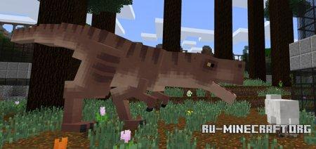 Скачать Tyrannosaurus Rex для Minecraft PE 1.5