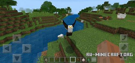 Скачать Eagle Of The Sky для Minecraft PE 1.6