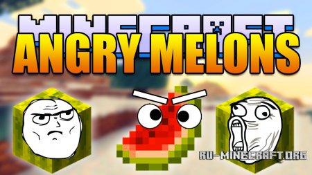 Скачать Angry Melons для Minecraft 1.8.9