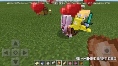 Скачать Magent And Pagent для Minecraft PE 1.6