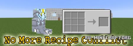 Скачать No More Recipe Conflict для Minecraft 1.11.2