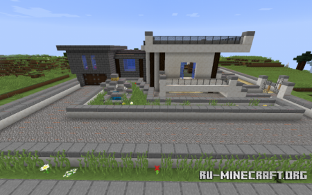 Скачать Modern House Survival by Ninjakiller160 для Minecraft