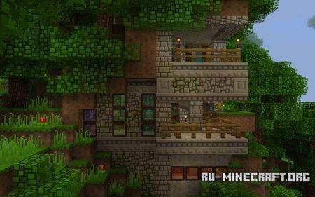 Скачать BlockPixel [16x16] для Minecraft PE 1.7