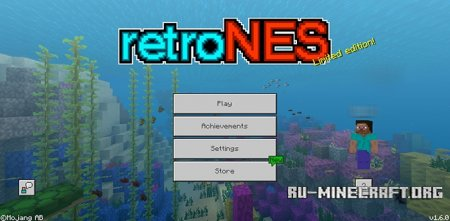Скачать Retro NES [16x16] для Minecraft PE 1.6