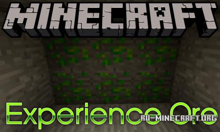 Скачать ExperienceOre для Minecraft 1.11.2