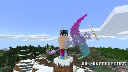 Скачать WindLight Scythe для Minecraft PE 1.7