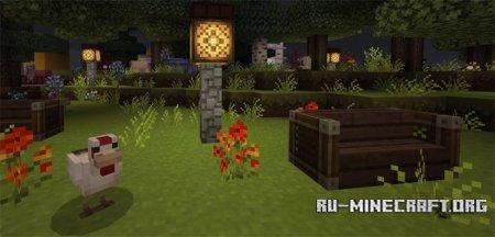 Скачать Mizunos [16x16] для Minecraft PE 1.6