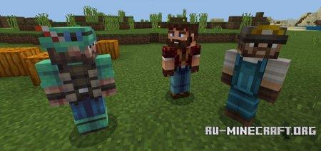 Скачать Helpful NPC для Minecraft PE 1.5