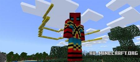 Скачать Spider-Man Suits Skin для Minecraft PE 1.5