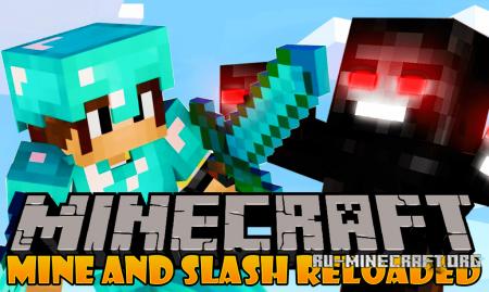 Скачать Mine and Slash Reloaded для Minecraft 1.12.2