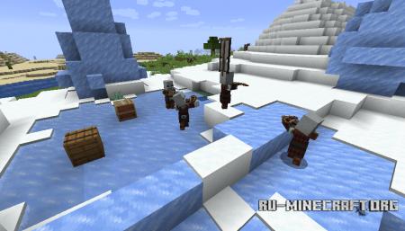 Патруль с разбойниками в Minecraft 1.14 (2)