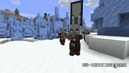 Патруль с разбойниками в Minecraft 1.14 (1)