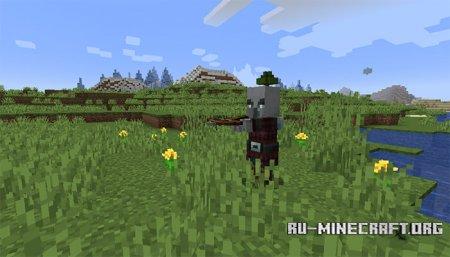 Разбойник в Minecraft 1.14 (1)