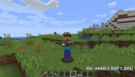 Натянутый Арбалет в Minecraft 1.14
