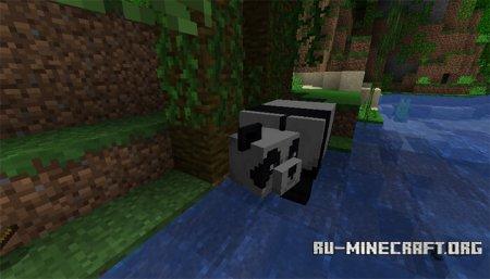 Панда в Minecraft 1.14 (2)
