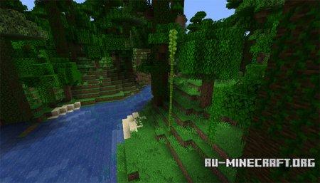 Бамбук в Minecraft 1.14 (2)