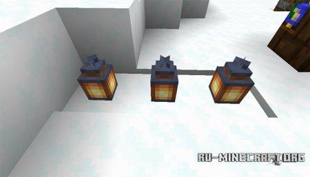 Фонарь в Minecraft 1.14